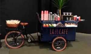 Lá do café - do coador para a bike