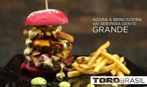 TORO Burger - Uma viagem gastrônomica ao mundo do Burger